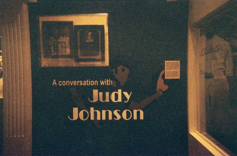 Judy Johnson conversation